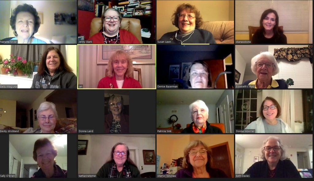 CCAAUW Dec 2020 Zoom Meeting